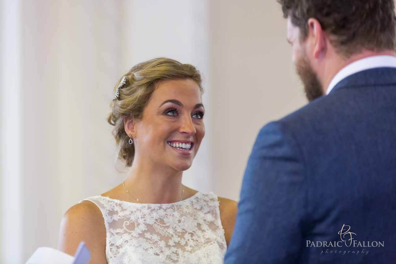 Wedding photography Galway salthill church