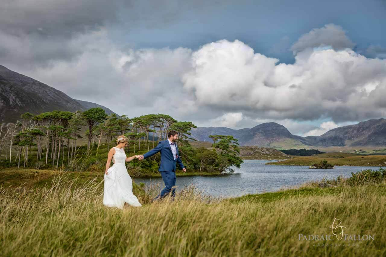 A romantic walk in Connemara Wedding Photography