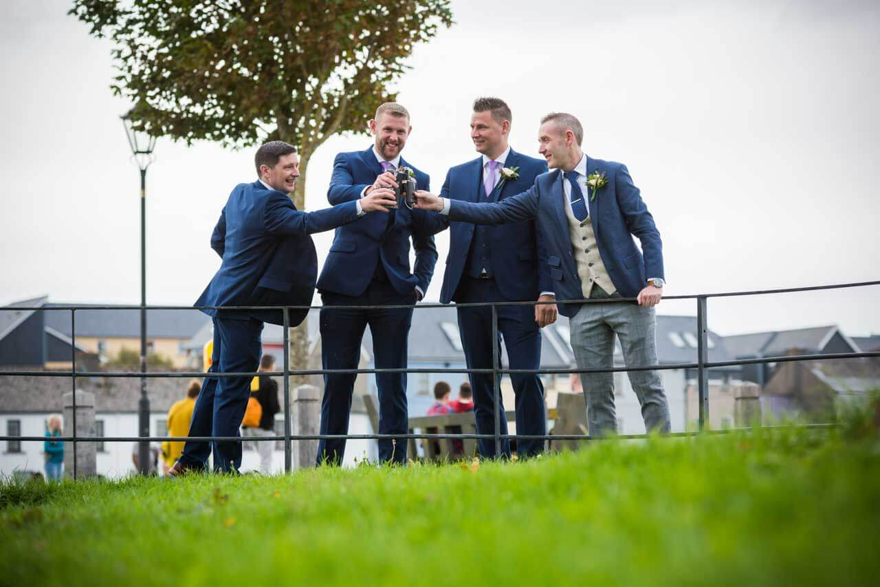Best man wedding photography Galway