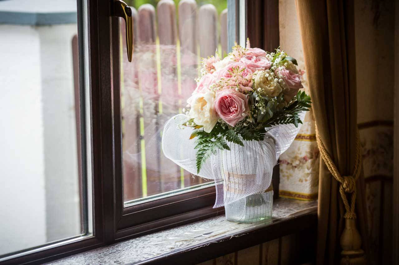 Wedding flowers photograph