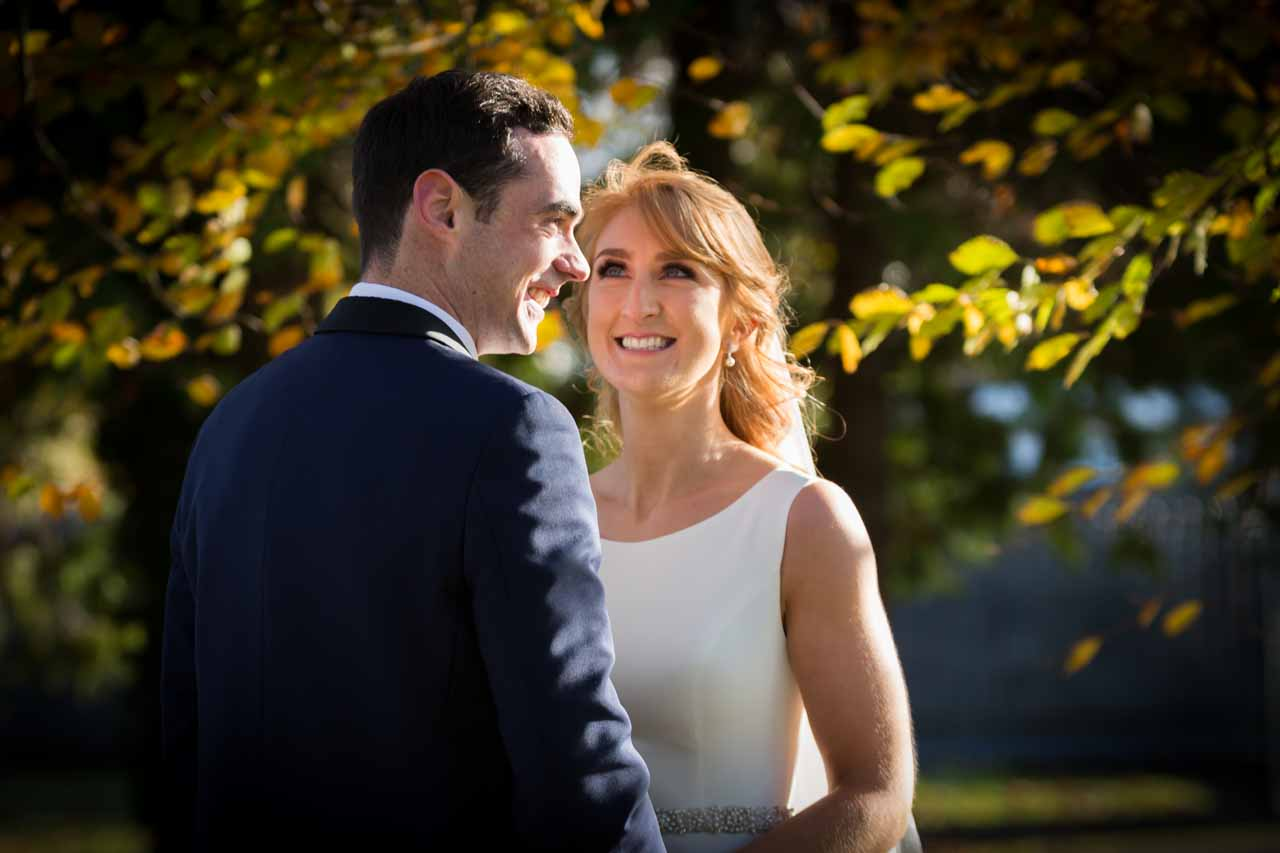 Happy wedding photography Galway