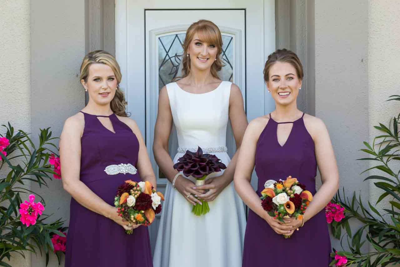 Bride and her bridesmaids photography Galway