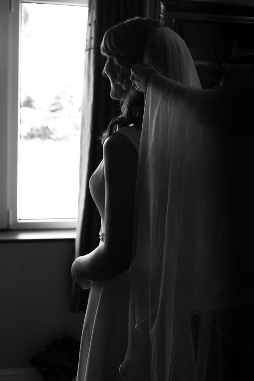 window light stunning bride photography