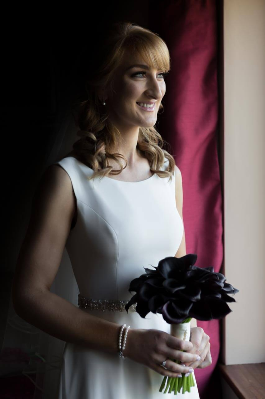 Loughrea bride posing photography